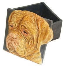 Dogue de Bordeaux Dog On Sale Treat Box Tile Ceramic handmade Alexander Art