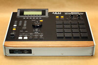 "Akai MPC 2000XL Custom ""Black Modular"" Color & Walnut Bezel"