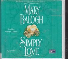 SIMPLY LOVE by MARY BALOGH ~ UNABRIDGED CD'S AUDIOBOOK