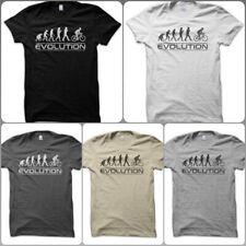 T-Shirt Maglietta Evolution Cycling Ciclismo Bicicletta Bike Giro Vintage Uomo