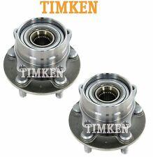 For Toyota Prius 04-09 Pair Set of Front Wheel Bearings & Hubs Timken HA590064