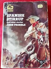 "Western PB ""Spanish Stirrup and other stories"" by John Prebble (Corgi, 1960)"