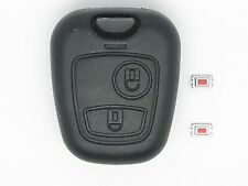 PEUGEOT 406 remote KEY FOB case ORIGINAL FIT (screwless) + 2 repair switches
