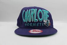 New Era Charlotte Hornets 9Fifty Snapback Hat Adjustable Fit