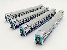 Kunter China Railway RZ2 25Z/K Coach / Passenger Cars (4 cars set) (N scale)