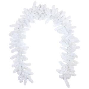 Künstliche weiße Tannengirlande 270cm Douglasie aus PE Spritzguss Nadeln;PG01W2