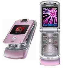 Motorola V3m RAZR Cell Phone (VERIZON) MOTORAZR CameraGPS Speakerphone Flip Pink