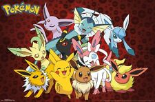 POKEMON - FAVORITE CHARACTERS POSTER - 22x34 - 15368