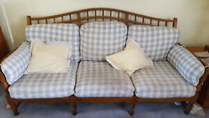 Ethan Allen Country French couch