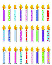Candle, Bubble Stickers Embelishments, Ideal 4 Cardmaking, Scrapbooking & Crafts
