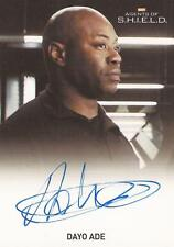 """Marvel Agents of Shield - Dayo Ade """"Agent Barbour"""" Auto / Autograph Card"""