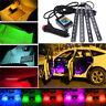 "Bluetooth RGB APP LED Interior Car Under Dash Footwell 9"" Strip Accent Lighting"