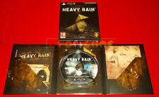 HEAVY RAIN EDIZIONE DA COLLEZIONE Ps3 Versione Ufficiale Italiana - USATO - FG
