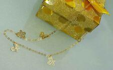 Fußkette Gold corazón bisutería ajorcas joyas Heart cadena nuevo regalo
