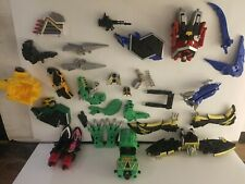 Bandai Power Rangers Action figures and pieces lot.