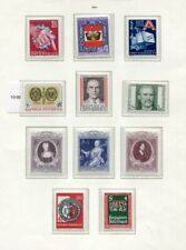 AUSTRIA 1980-87 MNH COLLECTION 270 Stamps
