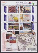 Nederland V2658-2663b Grenzeloos Brazilie  2009  postfris/mnh