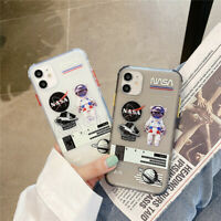 Astronaut NASA Planet Pattern Phone Case Cover For iPhone 11 Pro Max XR XS 8Plus