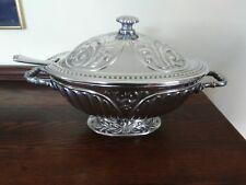 DISCONTINUED - Lenox - Butler's Pantry Metalware Soup Tureen