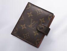 H7664M Authentic Louis Vuitton Monogram Agenda Notebook Cover Mini
