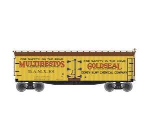 N Scale Atlas 50003884  Multibestos / Gold Seal 40' Wood Reefer #104