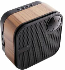 Wooden Wireless Bluetooth Speaker Portable Supports TF Card Micro-SD AUX Inputs