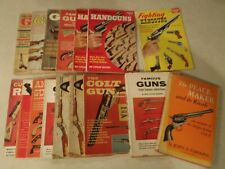 Vintage Gun Book Lot Peacemaker Colt Rifles Handguns Famous Annual Cooper Action