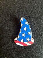 Disney WDW Cast Exclusive Patriotic Sorcerer's Hat Pin 100% authentic u11
