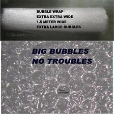 EXTRA LARGE BUBBLES AIR WRAP 750 MM WIDE 10 METER LONG EXTRA PROTECT SH