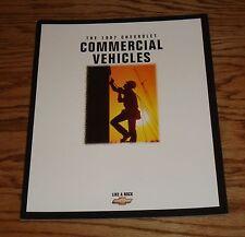 Original 1997 Chevrolet Commercial Vehicles Sales Brochure 97 Chevy Pickup Van