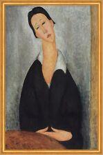 Portrait of a Polish Woman Amedeo Modigliani Frauen Gesicht Hals B A1 00450