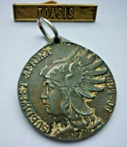 Orden, Südwestafrika-Denkmünze mit Spange TOASIS                      (Art.5082)