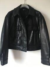 Zara Cropped Black Sequin Jacket