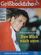 Programm 2000/01 1. FC Köln - Bayer Leverkusen