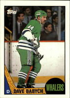1987-88 Topps Hockey Base Singles (Pick Your Cards)