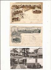 3 alte Ansichtskarten von München - Trudering