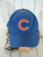 CHICAGO CUBS BLUE BASEBALL HAT CAP ADULT ONE SIZE SNAPBACK