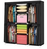 YOUUD Wardrobe Storage Closet Clothes Portable