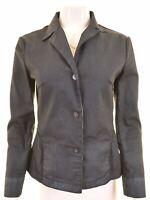 CERRUTI Womens Denim Jacket Size 42 Medium Cotton  BQ08