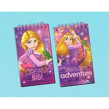 TANGLED Dream Big BLACK PAPER SKETCH PADS (12) ~ Birthday Party Supplies Favors
