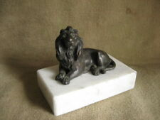 Metallobjekte Bronze Bronze Skulptur Detailliert Museum Qualität Klassisches Viktorianisch Kunstwerk