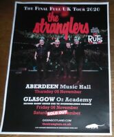 The Stranglers - live music show Nov 2020 promotional tour concert gig poster