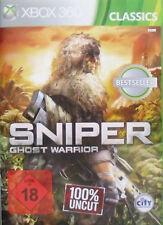 X360/xbox gioco-SNIPER Ghost Warrior (Classics) (usk18) (PAL)