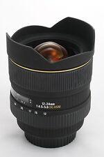 Sigma EX DC HSM Aspherical IF 12-24mm f/4.5-5.6 HSM DG EX ASP Lens Canon