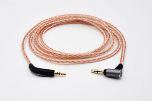 8-core braid Audio Cable For B&W Bowers & Wilkins P7 /P7 Wireless headphones