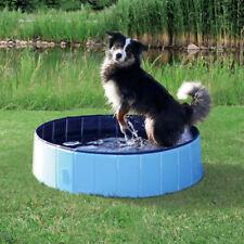 TRIXIE Hundepool blau/hellblau 120 x 30 cm Hunde Schwimmbad Pool