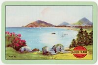 Playing Cards 1 Single Card Old GOLD FLAKE Cigarettes Advertising KILLINEY BAY 2