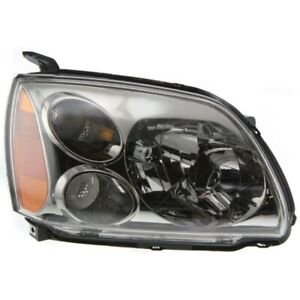 NEW RIGHT HALOGEN HEAD LAMP ASSEMBLY FOR 2005-2007 MITSUBISHI GALANT MI2503127