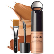 Stila Stay All Day Foundation, Concealer and Brush Kit DEEP #15, New in Box 30ml