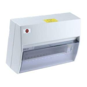 1 x Wylex 14 Way Plastic Consumer Unit 100A NH Series includes incoming isolator